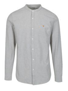 Svetlosivá neformálna košeľa Farah Chramer