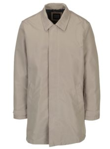 Béžový pánsky kabát Geox
