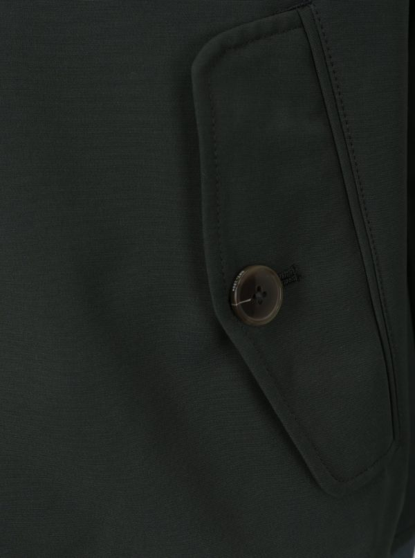 Tmavozelená pánska bunda Burton Menswear London