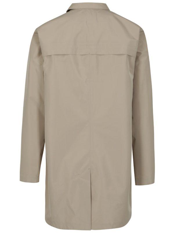 Béžový funkčný nepremokavý kabát Selected Homme Take Tech