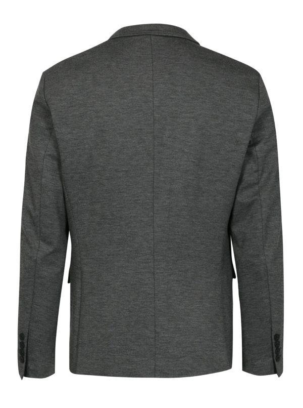 Sivé melírované oblekové sako Selected Homme Zero-Merce