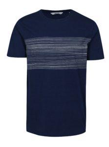 Tmavomodré tričko s potlačou ONLY & SONS Sanford