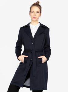 Tmavomodrý dámsky kabát s.Oliver