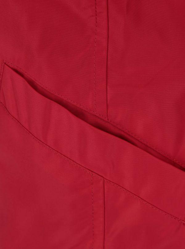 Červená dámska funkčná bunda Geox