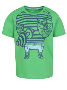 Zelené chlapčenské tričko s potlačou 5.10.15.