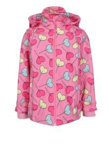 Ružová dievčenská nepremokavá bunda 5.10.15.
