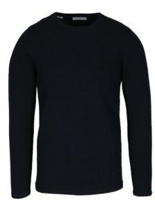 Tmavomodrý sveter Selected Homme Marvel