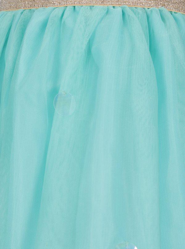 Tyrkysová dievčenská sukňa 5.10.15.