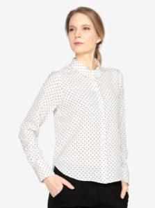 Čierno-krémová vzorovaná košeľa VERO MODA Nicky