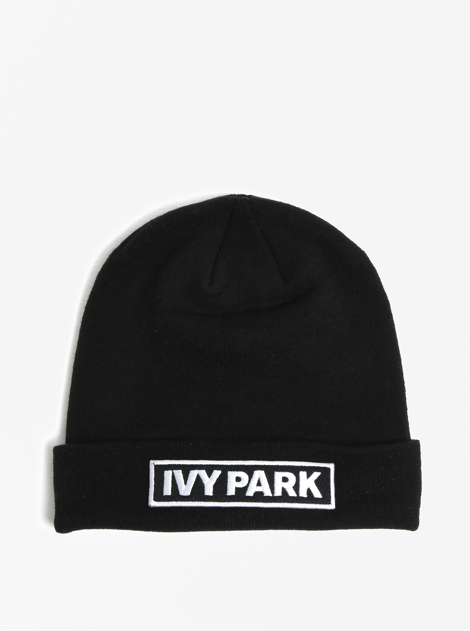 bda00e81cd73 Čierna čiapka s výšivkou loga Ivy Park