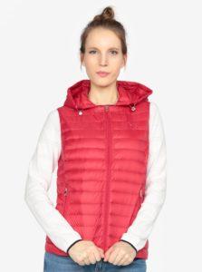 Červená prešívaná vesta Tommy Hilfiger