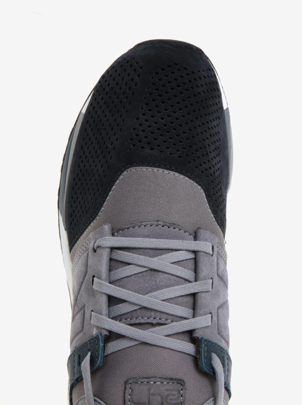 Čierno-sivé pánske semišové tenisky New Balance MRL247