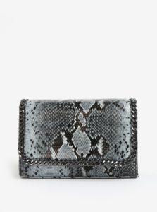 Čierno–sivá crossbody kabelka MISSGUIDED
