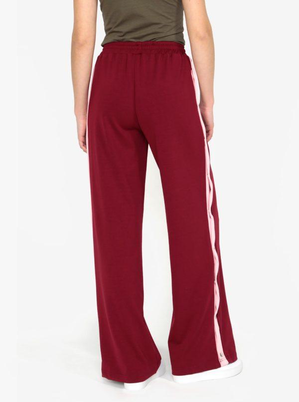 Vínové nohavice s vysokým pásom MISSGUIDED