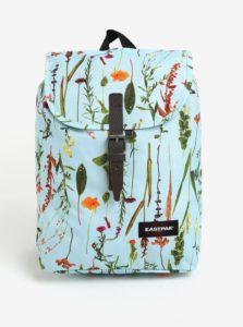 Modrý dámsky kvetovaný batoh Eastpak Casyl 10,5 l