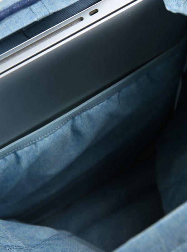 Modrý dámsky kvetovaný batoh Eastpak Superb Special Arayanna 14 l