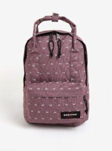 Svetlofialový dámsky vzorovaný batoh Eastpak Padded Shop´r 15 l