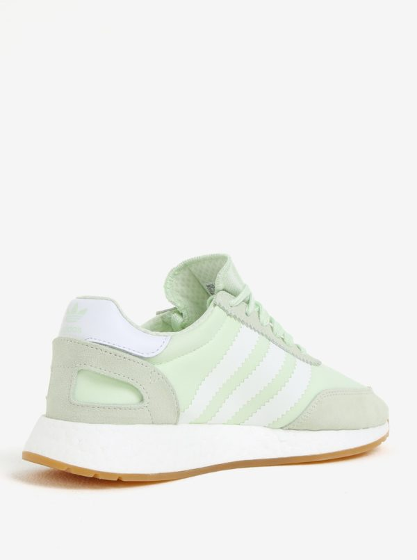 Zelené dámske tenisky adidas Originals Iniki Runner