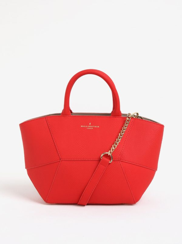 Červená malá kabelka Paul's Boutique Odette