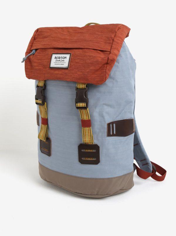 Tehlovo-modrý batoh Burton Tinder 25 l