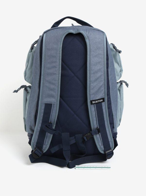 Modrý batoh s vreckami Burton Distortion