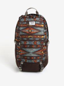 Hnedý vzorovaný batoh Burton Sleyton 23 l