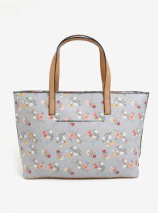 Sivý kvetovaný shopper Bessie London