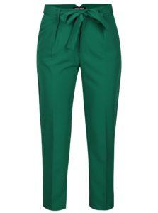 Zelené nohavice s vysokým pásom TALLY WEiJL