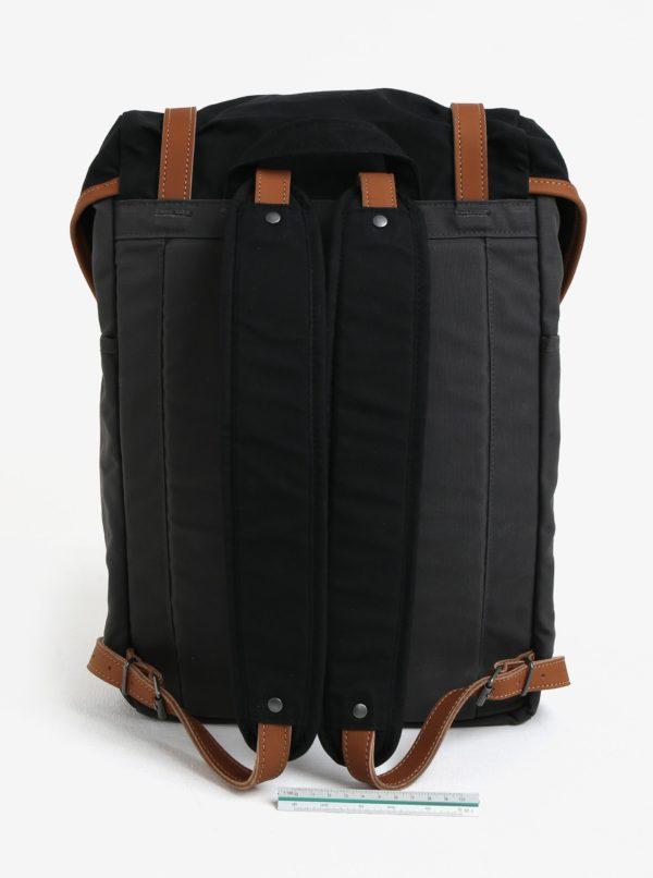 Čierno-sivý vodovzdorný batoh Fjällräven Rucksack No. 21 Medium 20 l