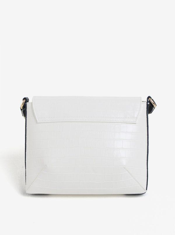 Biela crossbody kabelka s jemným vzorom Paul's Boutique Raffie