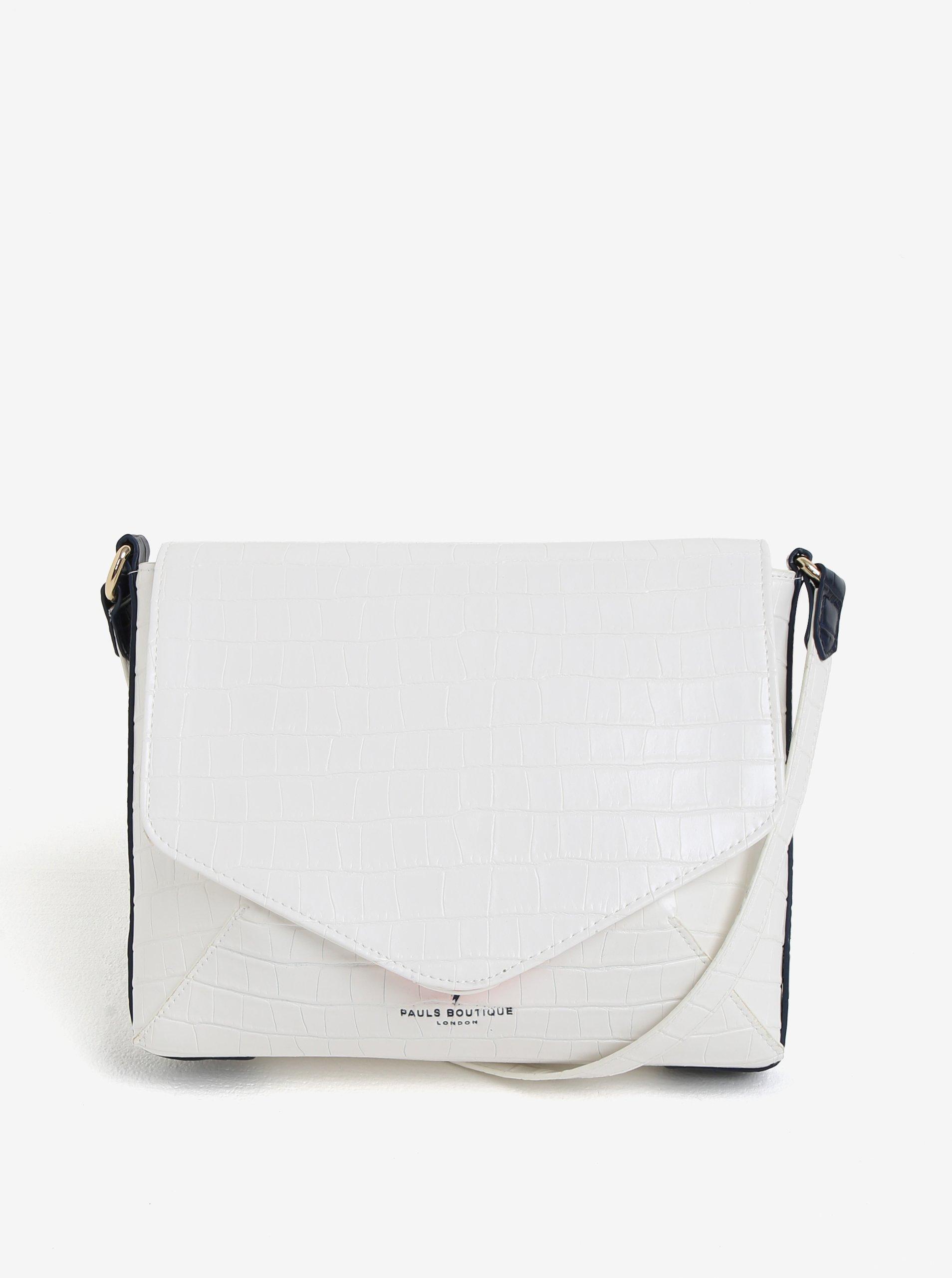 adcfc86a8 Biela crossbody kabelka s jemným vzorom Paul's Boutique Raffie | Moda.sk