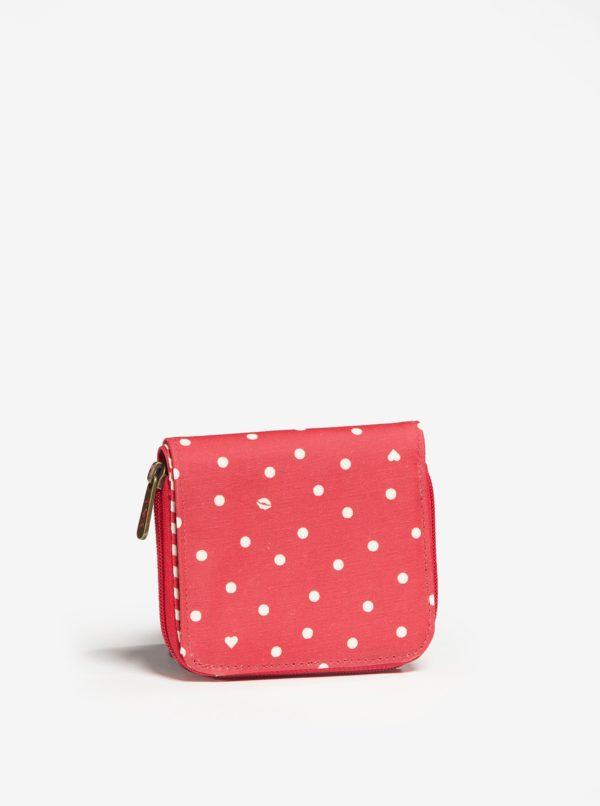 Červená vzorovaná peňaženka Blutsgeschwister
