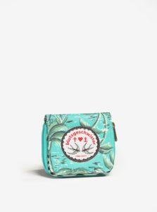 Tyrkysová vzorovaná peňaženka Blutsgeschwister