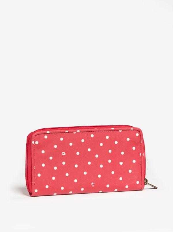 Červená veľká peňaženka Blutsgeschwister