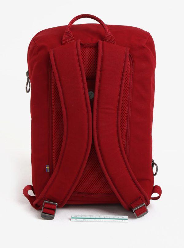 Vínový vodovzdorný batoh Fjällräven Kiruna Backpack Small 20 l