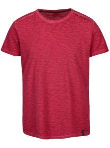Ružové pánske melírované tričko s.Oliver