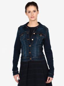 Tmavomodrá dámska rifľová bunda QS by s.Oliver