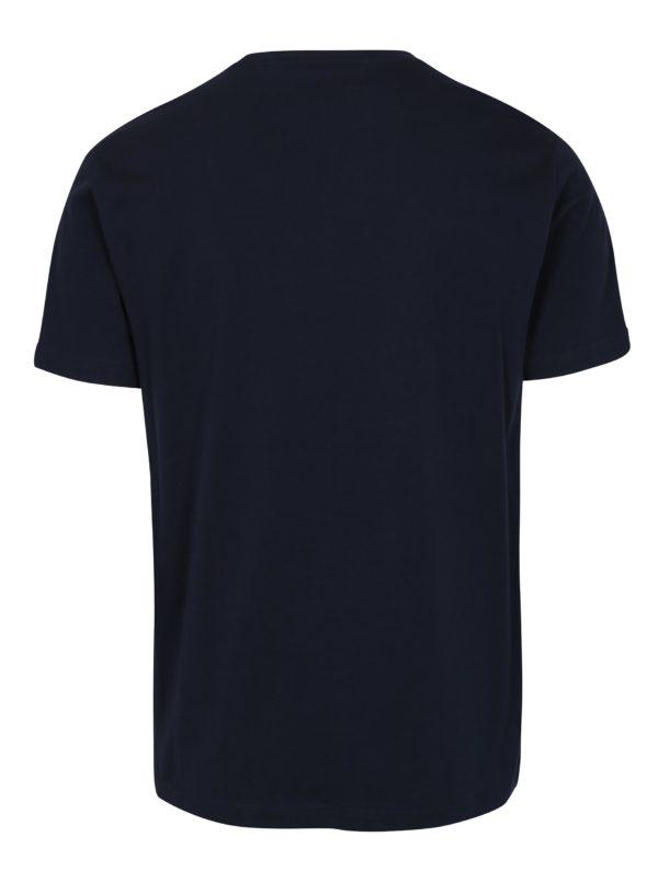Tmavomodré tričko Original Penguin Pin Point