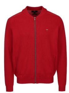 Červený kardigán na zips Fynch-Hatton