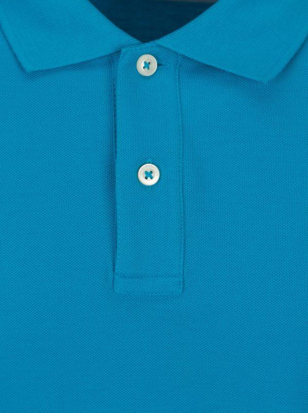 Modrá polokošeľa s krátkym rukávom Fynch-Hatton
