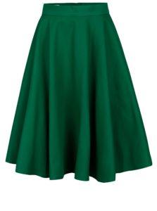 Zelená kolesová sukňa SAINT DOT Lantern