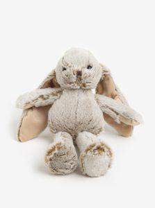 Béžový plyšový zajac Kaemingk