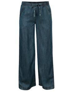 Modré tenké nohavice s gumou v páse Tranquillo Prinsepia