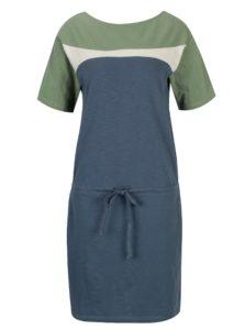 Zeleno-modré šaty Tranquillo Lana