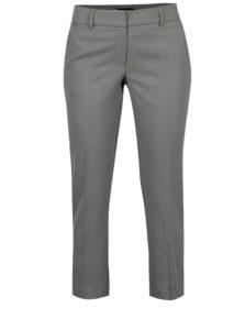 Sivé vzorované nohavice Dorothy Perkins