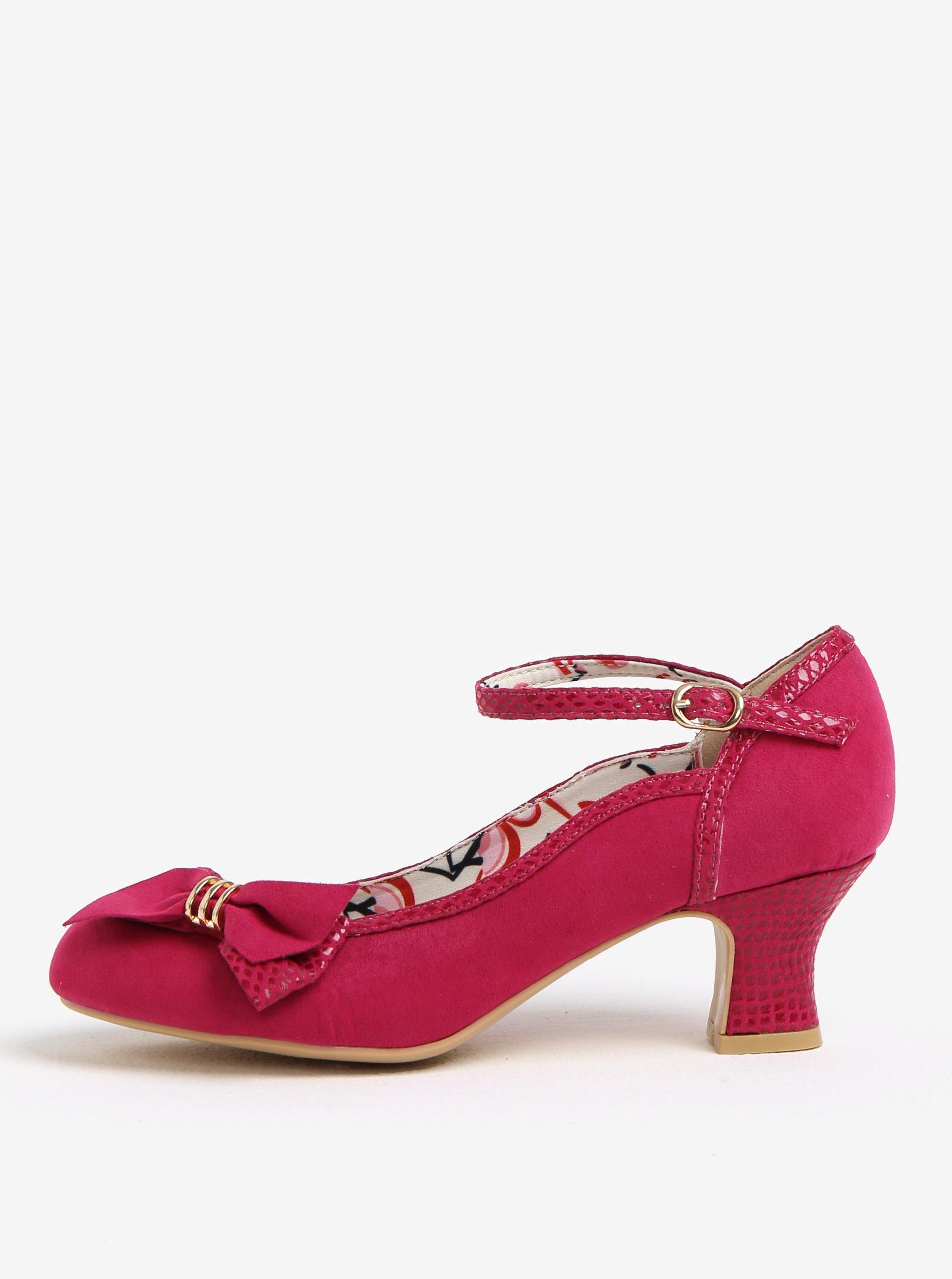 bf3389f7d205 Ružové lodičky v semišovej úprave Ruby Shoo Cordelia