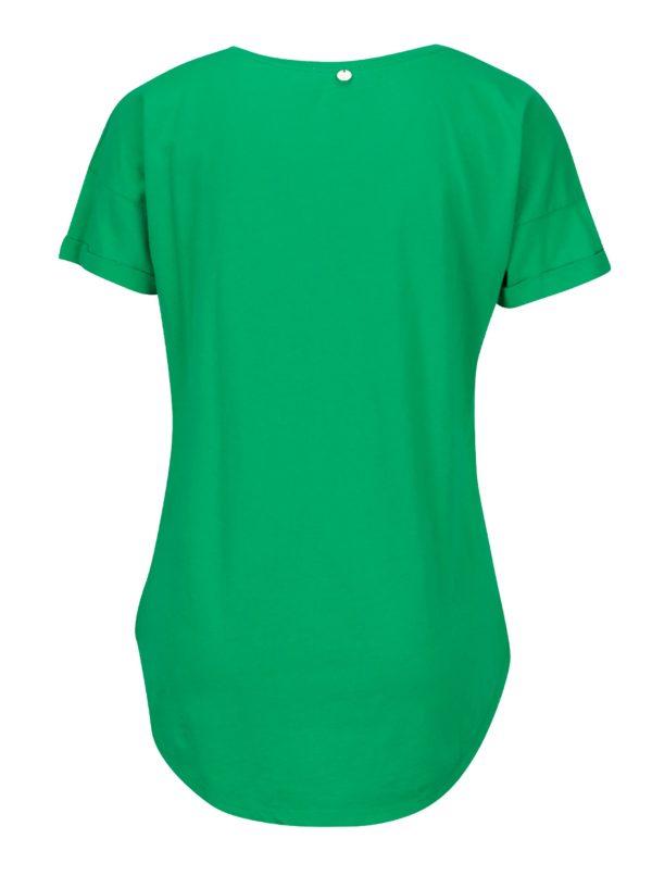 Zelené tričko s flitrami Rich & Royal