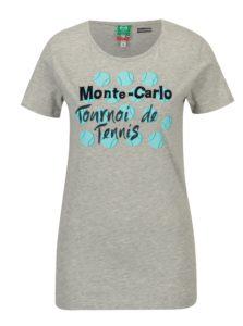 Sivé dámske tričko Sergio Tacchini Ondina