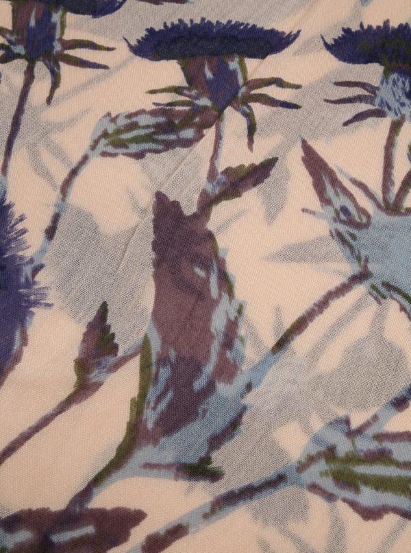 Béžová kvetovaná šatka Dorothy Perkins