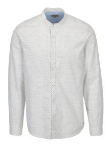 Krémová pánska vzorovaná košeľa Garcia Jeans Heren